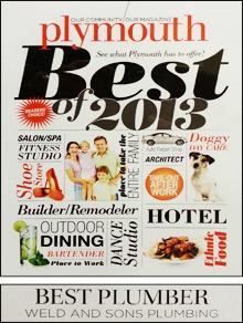 Plymouth Magazine Award